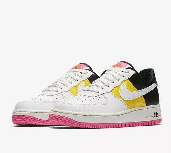 Nike Air Force 1 '07 SE Moto AT2583 100 White Yellow UK 5 EU 38.5 US 7.5 New