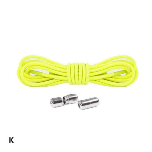 Quick No Tie Lazy Shoe Laces String Locking Elastic Shoelaces Buckle For F1G1