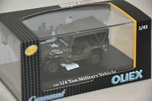 Oliex Oliex91870j1 Jeep Ferme 6 Juin 1944 1/43 Buy One Give One Other Vehicles Diecast & Toy Vehicles