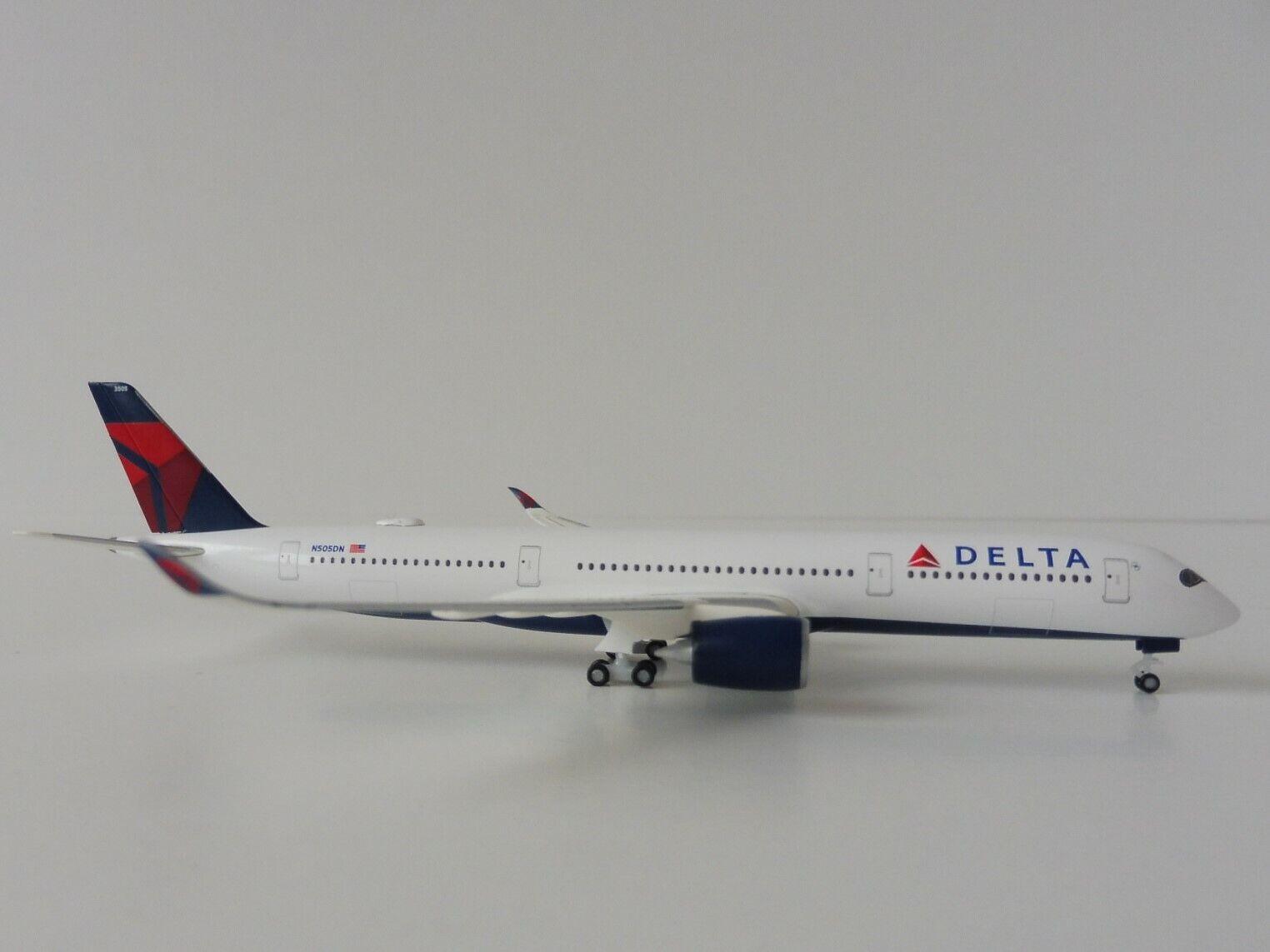 DELTA AIR LINES Airbus A350-900 1 500 Herpa 530859-001 530859-001 530859-001 A 350 A350XWB XWB N505DN  | Bekannt für seine schöne Qualität  8b72f9