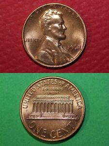 Lincoln Memorial Cent 1968 P