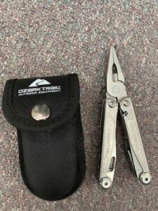 Ozark Trail Multi Tool Knife Multipurpose Outdoor Camping Folding Pocket Pliers