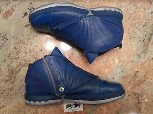 7d17e0c7aed Nike Air Jordan 16 XVI Retro Trophy Room QS size 13. Blue Navy ...