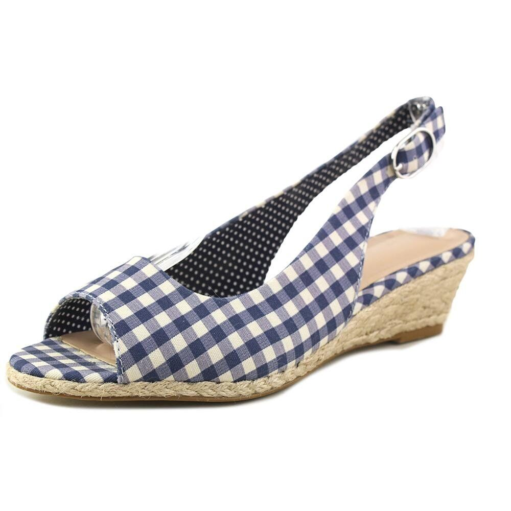 Kelly and Katie Tamy Women US 8 bluee Wedge Sandal