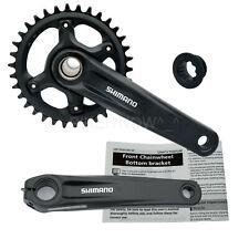 Suntour ZERON 1x MTB Crankset 30t 175mm Inc Bottom Bracket Bike Cranks 53mm Ch