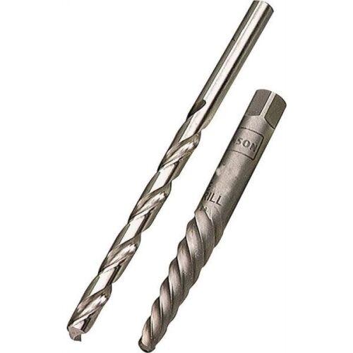Screw Extractor /& Drill Bit Combo