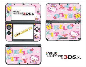 ... SKIN STICKER AUTOCOLLANT NINTENDO NEW 3DS XL REF