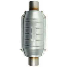 Universal Catalytic Converter 2 Inletoutlet With O2 Port Epa Approved Obdii