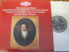 NIMBUS 2151/2 Beethoven Symphony No. 5 etc / The Hanover Band etc. 2 LP set