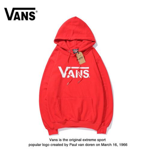 Van S Männer Und Frauen Hoodie Casual Sports Sweatshirt(Plus Kaschmir)