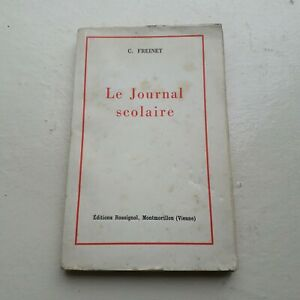 Le-Journal-Scolaire-C-Freinet-Rare-annees-50-Editions-Rossignol