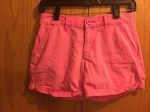 Girls-Gap-Pink-Shorts-Size-14
