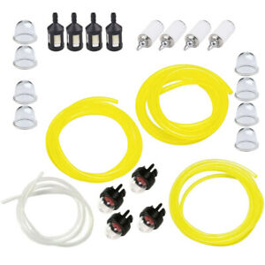 24pcs-4-Sizes-Tygon-Fuel-Line-Filter-Primer-Bulb-For-Poulan-Weedeater-Chainsaw