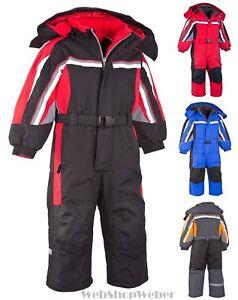 Schneeoverall-Skioverall-Schneeanzug-Skianzug-Winteranzug-Kinder-Maedchen-Jungen