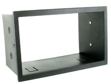 DFP-17-00 VOLKSWAGEN POLO 2007 ONWARDS BLACK DOUBLE DIN FASCIA FACIA ADAPTOR