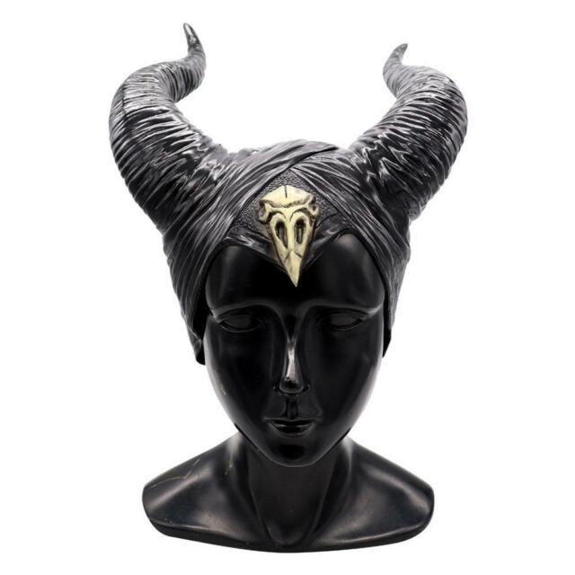 Queen Horns Headgear Halloween Black Mask Cosplay Props House Decoration