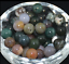 Wholesale-Lot-Natural-Stone-Gemstone-Round-Spacer-Loose-Beads-4MM-6MM-8MM-10MM thumbnail 7