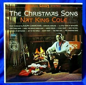 Sealed Jazz Christmas LP: Nat King Cole - The Christmas Song - Capitol SW-501967   eBay