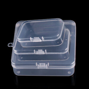 10PCS-Clear-Plastic-Storage-Box-Jewelry-Earplugs-Case-Container-Bead-Organizer