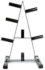 """CAP 2"""" Olympic 500 lb. Weight Plate Rack Stand Tree Holder Storage A Frame"""