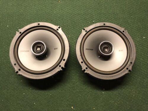 Car Speaker Pair 65W Used Kicker KS650 2-Way 6.5in