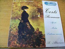 "ROBERTO ALTAMURA TOSTI ROMANZE  7"" EP  RCA CAMDEN 4 TRACKS"