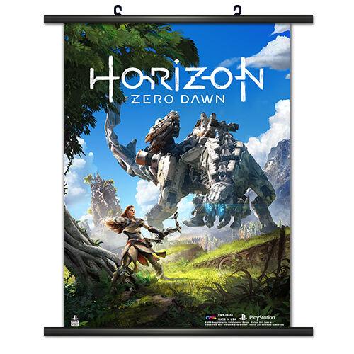 Horizon Zero Dawn Key Art Wall Scroll Poster NEW