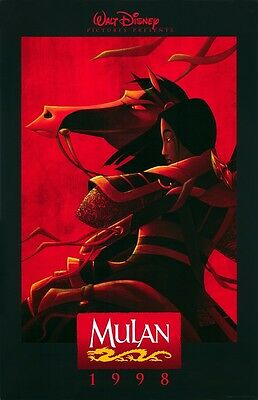 """11/"""" x 17/"""" Mulan Movie Collector/'s Poster Prints - Set of 3"""