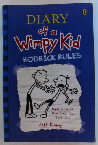 1 of 1 - #BI, Jeff Kinney RODRICK RULES, SC GC