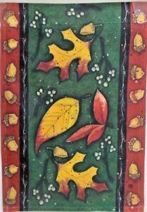 Leaf Toss Standard House Flag by Breeze Art 63501 Fall Leaves
