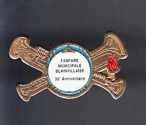 RARE-PINS-PIN-039-S-MUSIQUE-FANFARE-HARMONIE-TROMPETTE-BLAINVILLE-14-BB