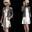 ZARA-Metallic-Silver-Sequinned-Party-Midi-Dress-Woman-Authentic-BNWT-M-0787-225 thumbnail 11