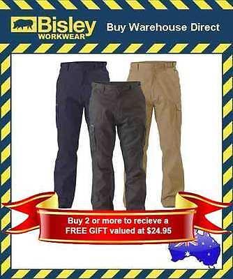Cargo Pants Men 100% Cotton Military Style Work Pants Mens