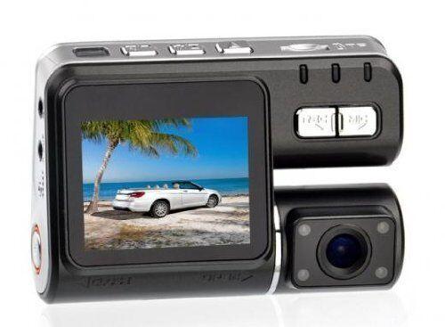 Reverse Cam Dual Lens Front /& Rear Camera HD 720p G Sensor Car Dash Windscreen