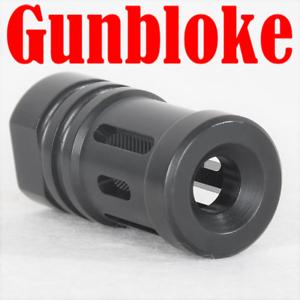 SWEDISH-MAUSER-Muzzle-brake-Compensator-7-Port-6-5x55-M38-M96