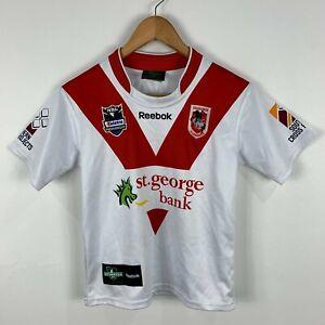 St-George-Illawara-Rugby-Jersey-Youth-Medium-8-10-years-Reebok-Made-In-Aus