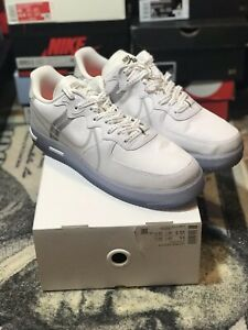 Details about Nike Air Force 1 React QS White Ice Men's Size 14 White Light Bone CQ8879-100