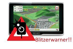 Becker-Active-Navigatisgeraet-Blitzerwarner-Radarwarner-immer-Aktuell-NEU