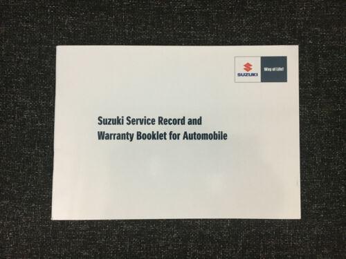 100/% GENUINE SUZUKI Servizio Libro Di Storia 99000-99004-SMC