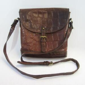 Image is loading Mulberry-Vintage-Brown-Congo-Leather-Crossbody-Saddle- Shoulder- 0e8fe3a9f49a8