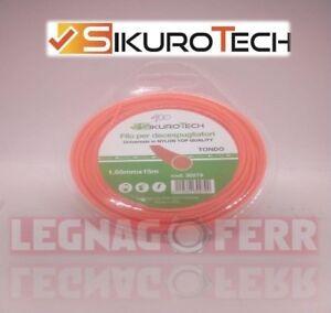 Filo-Decespugliatore-Tondo-1-65-MM-Nylon-Bobina-15-Metri-Anti-Rottura