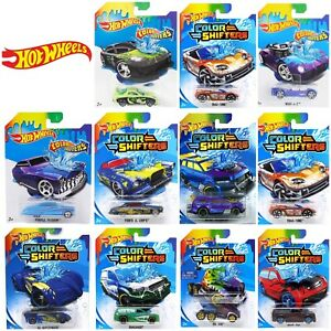Details About Hot Wheels Colour Shifters Cars Bhr15 Vehicles Choose Your Favourite New 2019
