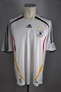 newest eacd0 dc7ff Details zu Deutschland Trikot 2006 Gr. L #10 DFB Adidas Weiß WM Jersey Home  EM Germany