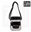 Zahi-Fashion-George-Men-039-s-Messenger-Crossbody-Bag-Black thumbnail 1