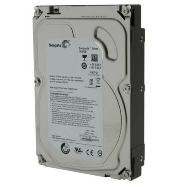 "Seagate Barracuda Green 1 TB,Internal,5900 RPM,3.5"" (ST1000DL002) Hard Drive"