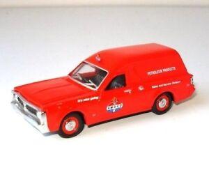 NEW-1971-XY-Ford-Falcon-Amoco-Panel-Van-1-64-Diecast-Model-Car-Display-Case