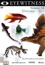 Eyewitness - Dinosaur / Fish : Vol 12 (DVD, 2006) Brand New  Region 4