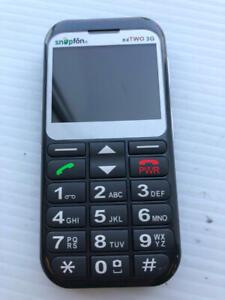 Snapfon eTWO-3G Gray Cell Phone Vintage - ASIS