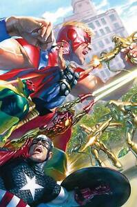 AVENGERS-18-ALEX-ROSS-MARVELS-25TH-TRIBUTE-VARIANT-WR-MARVEL-NM-1ST-PRINT-2019