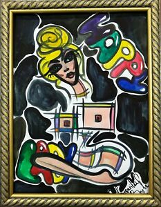 Margarita-Bonke-Malerei-PAINTING-Bild-akt-Street-Art-Graffiti-erotika-erotica-nu